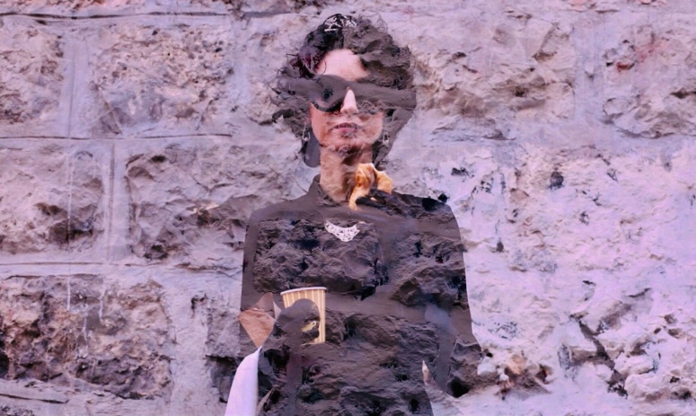 Marcelle Bitton, Edri at Mea She'arim- part 1, single frame, 2019, video art. Credit for photography_ N. Rotshtein .PNG