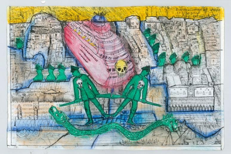 Leora Wise venice Jerusalem collage three